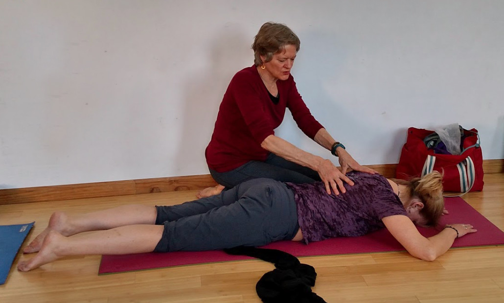 Ellen Saltonstall Massage Demo